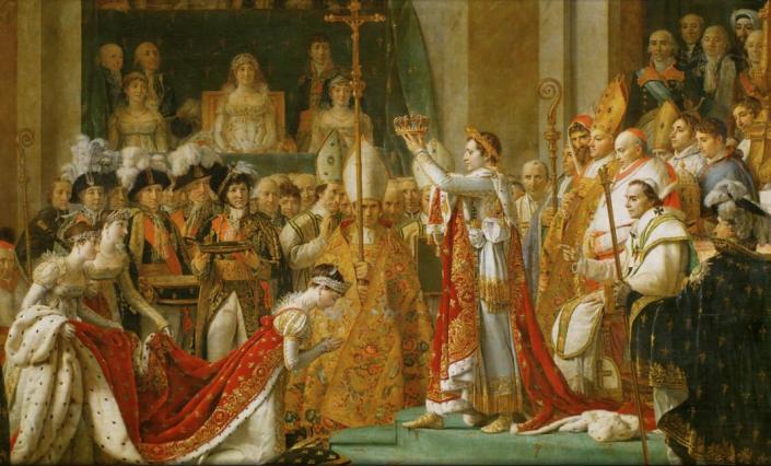 02 - LUIS DAVID - Coroação de Napoleão